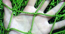 сетки дели зеленые